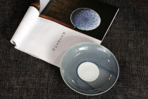 村田 森 瑠璃鎬六寸皿 5,250円(税込)