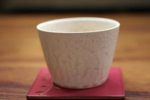 はしもとさちえ 条痕釉Cup 1,890円(税込)